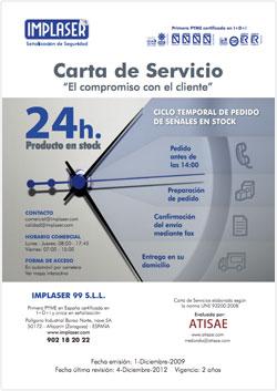 Carta Servicio 24h