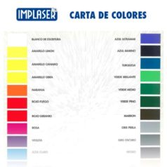 carta colores para pegatinas publicitarias