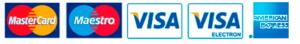 Implaser admite las siguientes formas de pago online