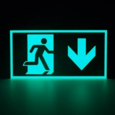 Luminarias fotoluminiscentes