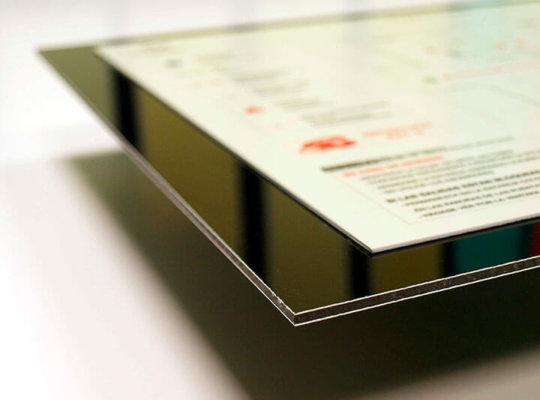 Impresión digital en plano rotulación